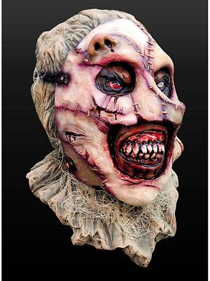 Maske Latex Halloween Grusel Tod (Halloween Vogelscheuche Maske)