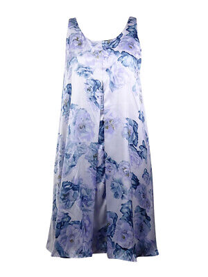 BCBGeneration Women's Floral Charmeuse Shift Dress ()