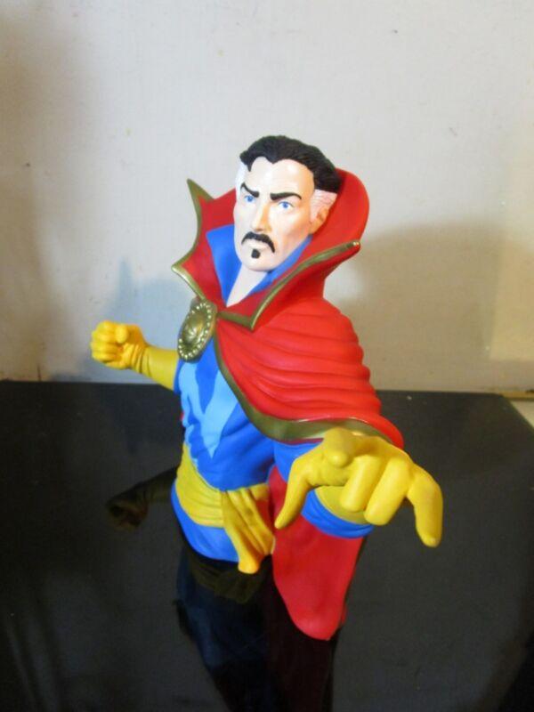 DC Comic Marvel Dr. Strange Bust Bank 3D Toy Figure Coin Bank~