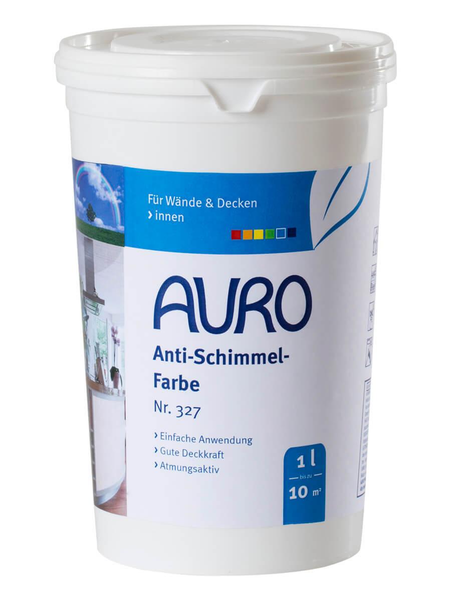 Anti Schimmelfarbe 1l 327  Auro Naturfarben Antischimmelfarbe Feuchtraumfarbe
