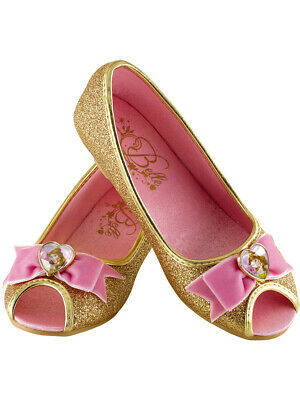 Childs Girl's Prestige Disney Beauty And The Beast Belle Shoes XL 2/3
