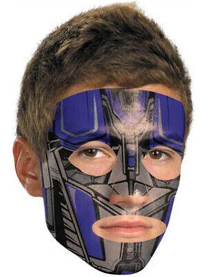 Transformers Optimus Prime Costume Accessory Face Tattoo Mask - Transformers Optimus Prime Costume