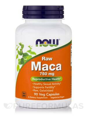 Maca (Raw) 750 mg - 90 Vegetarian Capsules by NOW