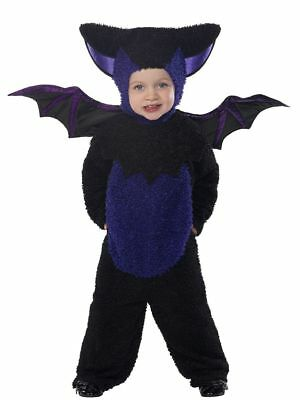 Baby oder Kleinkind Halloween Kostüm Fledermaus All in One Anzug von Smiffys - Kleine Fledermaus Baby Kostüm