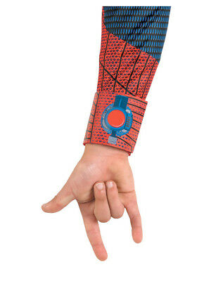 Childs The Amazing Spider-Man Red and Blue Costume Accessory Web Shooters](The Amazing Spiderman Gloves)