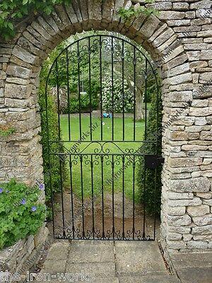 # MIRAGE ARCH TOP TALL SINGLE GARDEN GATE 36