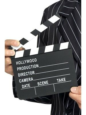 Hollywood Clapper Board Celebrity Style Party Fancy Dress Accessory