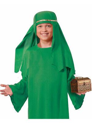 Kids Green Wiseman Sheik Hat Nativity Scene Christmas Holiday Costume Accessory (Sheik Hat)