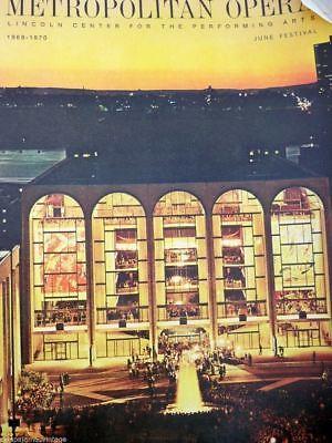 Vintage Metropolitan Opera Magazines 2 Seasona June Festival Provenance