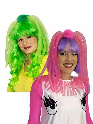 cken Pink Grün Karneval Kostüm Accessoires (Kostüm Haar-accessoires)