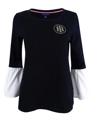 Tommy Hilfiger Women's Bell-Sleeve Sweatshirt