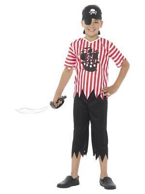 Boys Jolly Pirate Costume Child Sailor Fancy Dress - Sailor Boy Kostüm