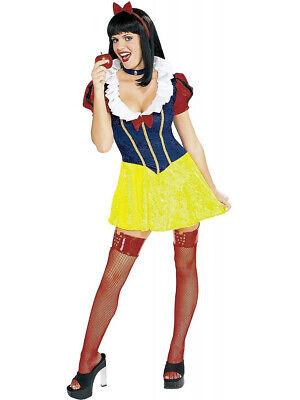 Women's Deluxe Sassy Snow White Adult Costume