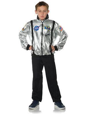 Silver Space Suit Costume (Child's NASA Silver Astronaut Space Jacket Suit)