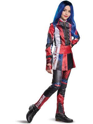 Childs Girl's Deluxe Disney Descendants 3 Evie Costume