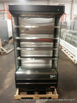 Turbo Air 39 Tom-40b-n Refrigerated Vertical Open Display Case