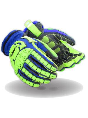 Magid T-REX TRX654W Winter Extreme Impact Glove – Cut Level 5, 1 Pair
