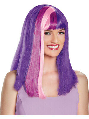 My Little Pony Twilight Sparkle Women's Wig Costume Accessory - My Little Pony Twilight Sparkle Costume