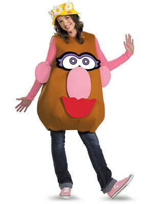 Mr Mrs Potato Head Halloween Costumes (Deluxe Large XL Changing Mr or Mrs Potato Head)