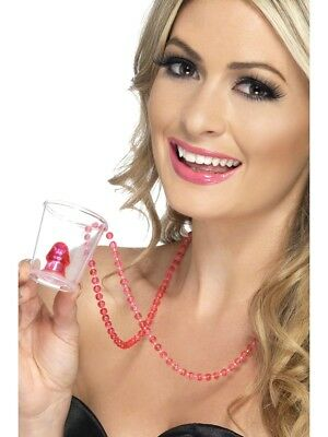 HEN NIGHT WILLY SHOT GLASS LADIES HEN PARTY FANCY DRESS ACCESORY WILLIE - Bachelorette Party Accesories