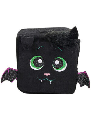 Halloween Bat Decoration (Halloween Black Bat Character Plush Cute Qubz)