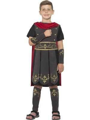 Roman Soldier Gladiator Warrior Boys Child Costume - Childrens Roman Soldier Costume