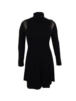 Ralph Lauren Women's Long Sleeves Sweater Dress (M, Black)