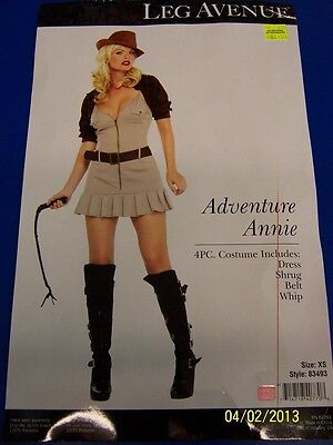 Adventure Annie Explorer Indiana Jones Dress Up Halloween Sexy Adult Costume