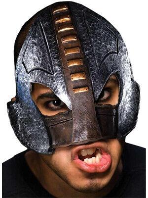 Adult Medieval Executioner Chinless Half Vinyl Mask](Medieval Masks)