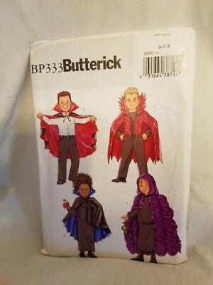 Costumes for Kids BP333 Kid Child Vampire Witch Warlock Capes Size 6-7