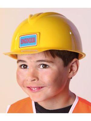 neval Kostüm Arbeiter Baustelle Hut (Gelb Bau Hut)