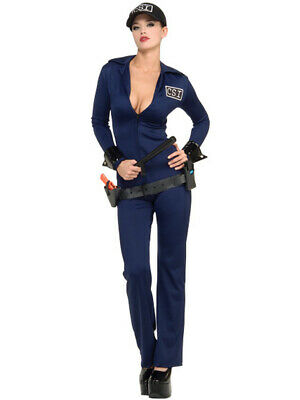 Women's Adult Criminal Investigator Sexy CSI Police Officer Costume