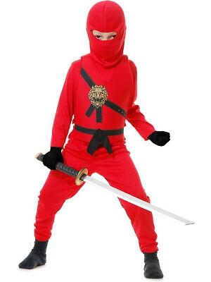 Child Red Ninja Avengers Series 1 Costume