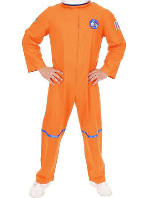 Space Suit Costumes (Adult Men's Orange NASA Astronaut Space Suit)