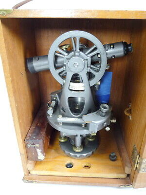Wow Brunson Old Marinetheodolite Jig Transit Scope Square Collector Item Museum