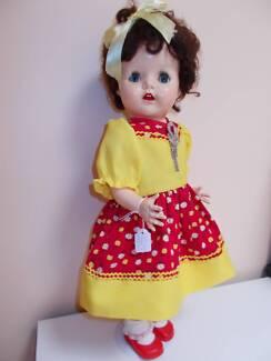 "Vintage Australian Pedigree Walker doll 22"" RARE perfect cond!"