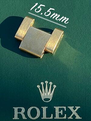 Maillon de bracelet ROLEX Oyster 18K / 18ct Or Jaune 15.5 mm