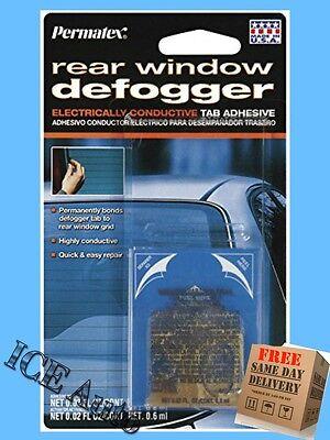 Permatex 21351 Electrically Conductive Rear Window Defogger Tab Adhesive REPAIR