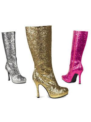 ation Glitter GoGo Fasching Karneval (Glitter Stiefel)