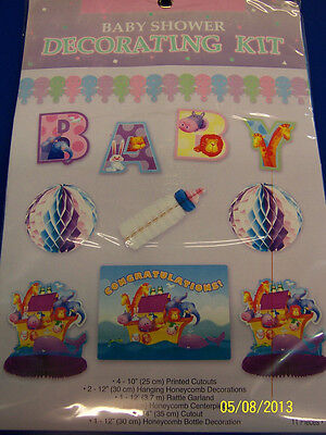Two by Two Noah's Ark Animals Cute Baby Shower Party Decoration Decorating Kit](Noah's Ark Decorations)