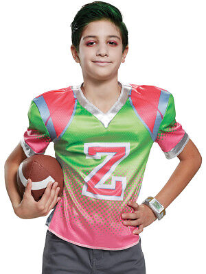 Boys Disney Zombies Zed Football Jersey Boys Costume (Football Costumes For Boys)