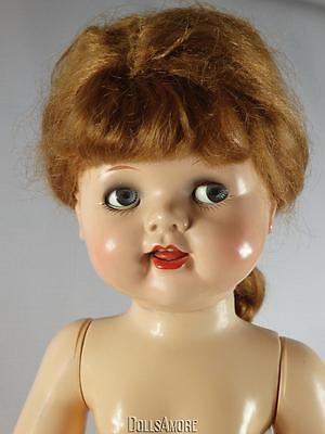 """1950's IDEAL SAUCY WALKER /CRIER DOLL 22"""" MARKED IDEAL"""