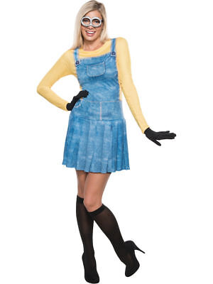Adult Women's Minions Costume - Officially Licensed - Dispicable Me - Minions Woman Costume