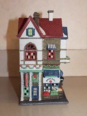 """Department 56 """"Corner Grocer"""" 56.59706 Christmas in the City Collection HVC"""