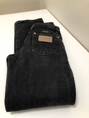 Boys Girls Wrangler Elastic Adjustable Waist Denim Black Jeans 12 Slim - GC Adjustable Waist Denim Jeans