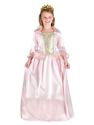 Kostüm für Kinder Prinzessin Königlich Rosa-Gold (4-6 Jahre) ()