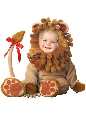 INCHARACTER LIL LION ROAR CUB JUNGLE INFANT BABY Toddler HALLOWEEN COSTUME 6003