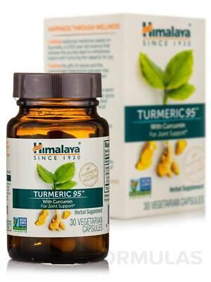 Himalaya Tumeric 95 (30 vegeterian capsules) USDA