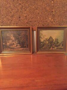 Framed matching prints with bonus free print REDUCED