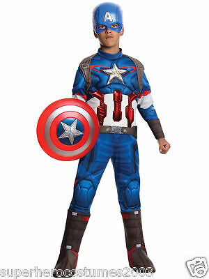 Avengers Age of Ultron Captain America Muscle Costume Marvel Comics 8-10 610425